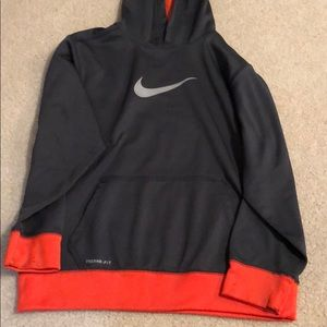 Therma Fit Nike hooded sweatshirt